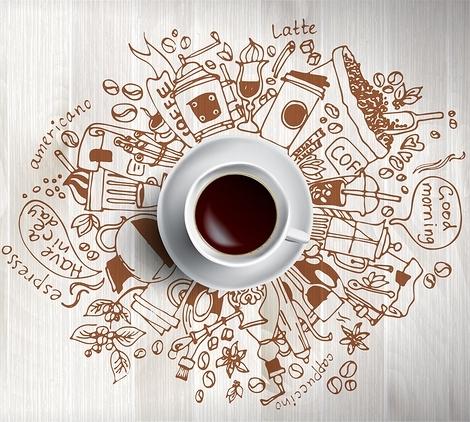 Музыка для кофеен | Картинка на сайте