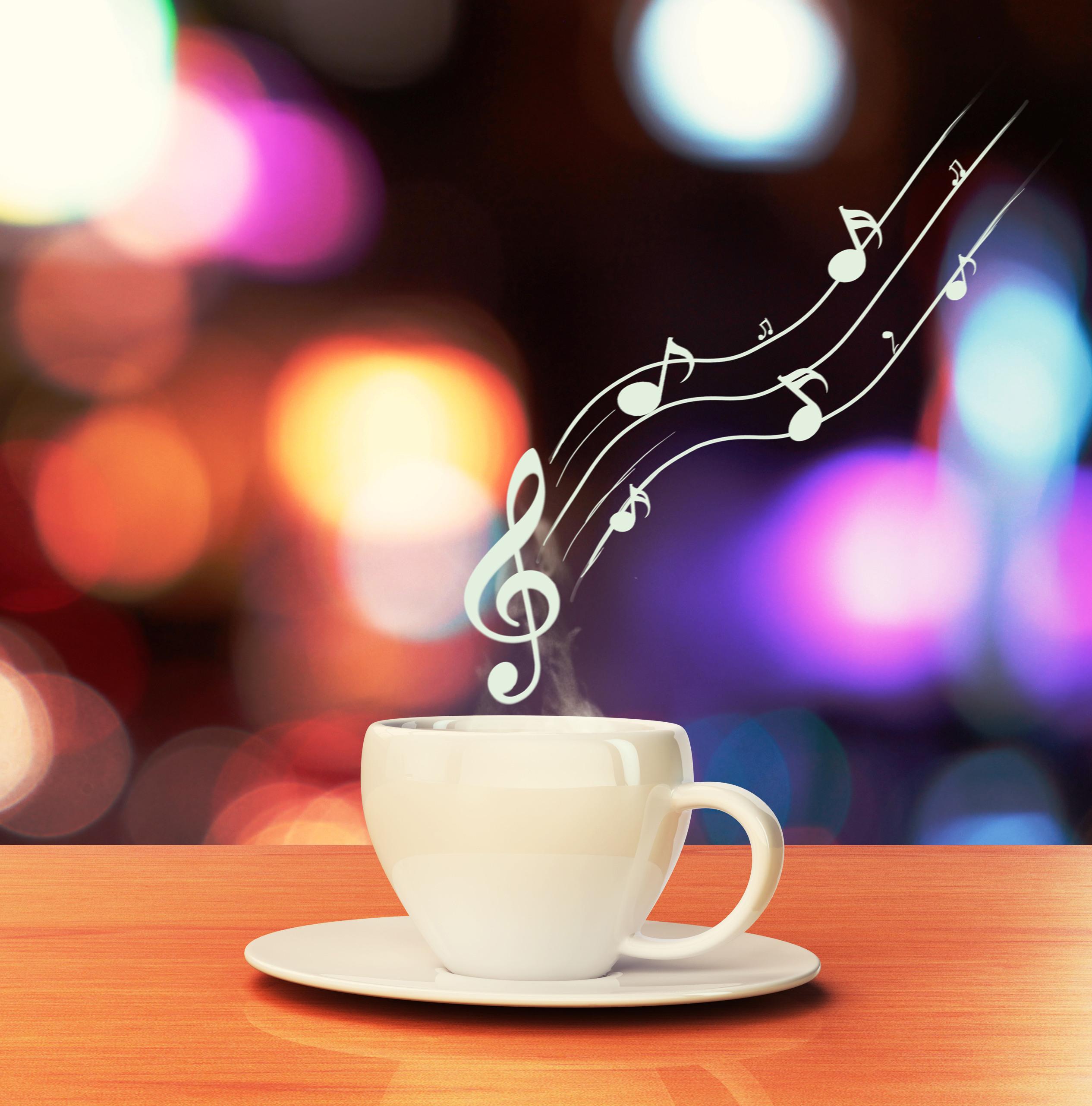 Музыка для кафе | Картинка на сайте
