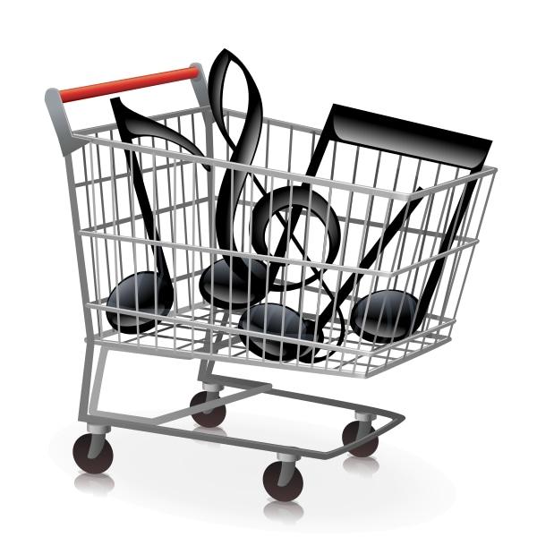 Музыка для магазинов | Картинка на сайте