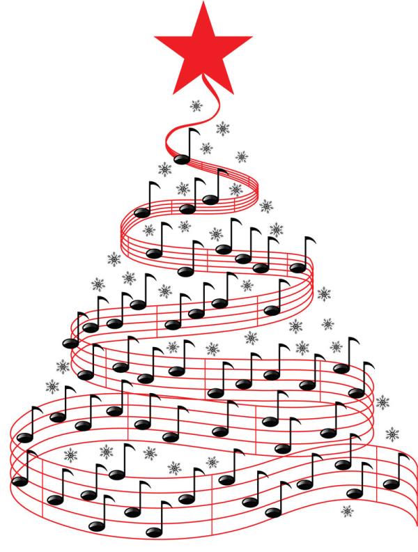 Новогодняя музыка | Картинка на сайте